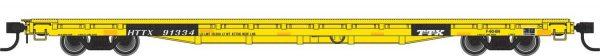 Walthers Mainline 5339   60' Pullman-Standard Flatcar, Trailer Train HTTX