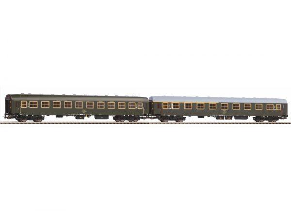 Piko 58391  2 piece set: Passenger Coaches 113AM +104A, PKP