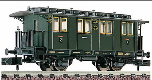 Fleischmann 8058   2nd/3rd Class passenger coach, DRG