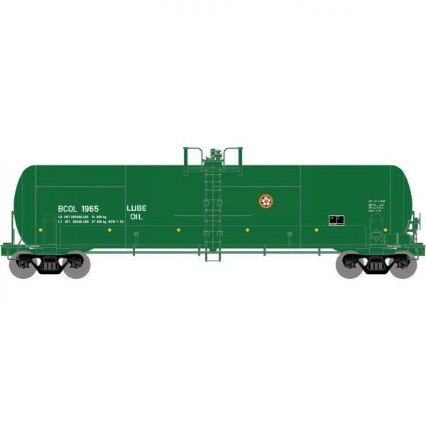 Athearn 15925  RTC 20,900-Gal Acid Tank, BCOL