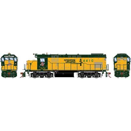 Athearn Genesis 13124  Diesel Locomotive  GP15-1, C&NW (DCC w/Sound)