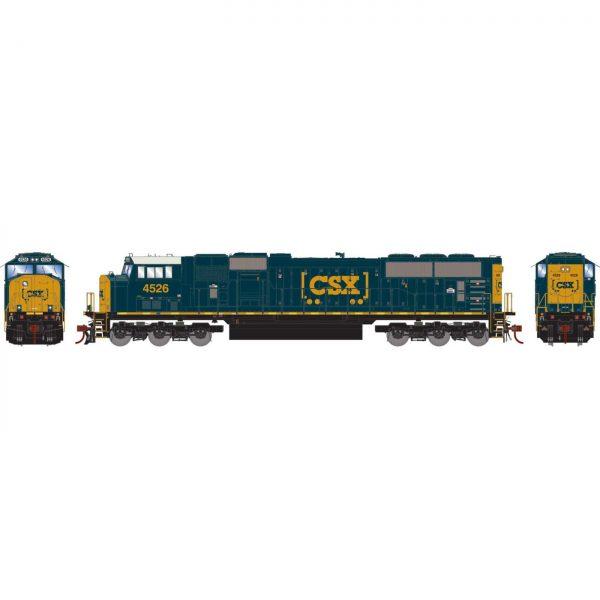 Athearn Genesis 64919  Diesel Locomotive SD70MAC, CSX (DCC w/Sound)