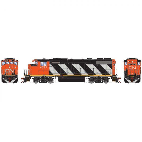Athearn Genesis 65493 Diesel Locomotive GP38-2(W) GMD, CN (DCC w/Sound)