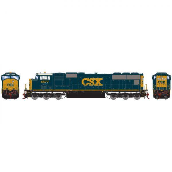 Athearn Genesis 70664  Diesel Locomotive SD70M, CSX (DCC/Sound)