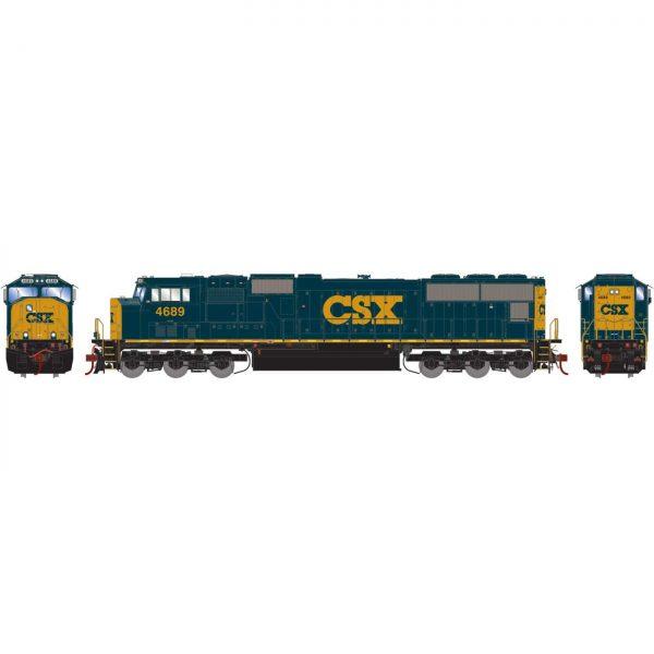 Athearn Genesis 70665  Diesel Locomotive SD70M, CSX (DCC/Sound)