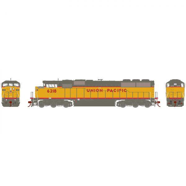 Athearn Genesis 75517  Diesel Locomotive G2 SD60M Tri-Clops, UP