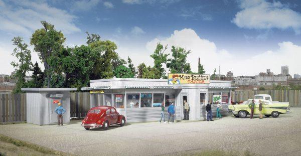 Walthers Cornerstone 2909  Miss Bettie's Diner