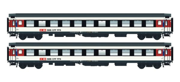 LS Models 47274  Set of 2 passenger cars 2nd class, SBB