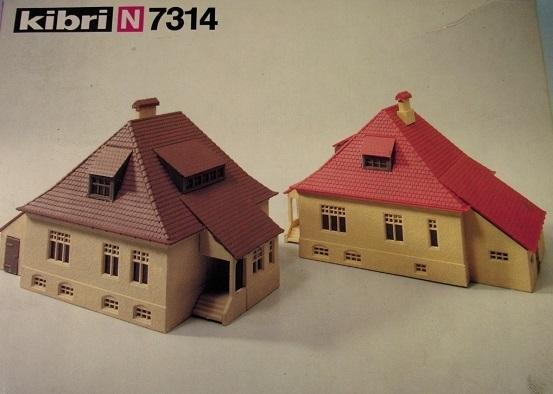 Kibri 7314  Two Houses