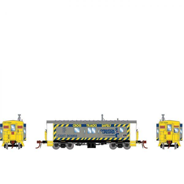 Athearn Genesis 78341  C-27 ICC Caboose, CSX/OLS/ORB (DCC/Sound/Lights)
