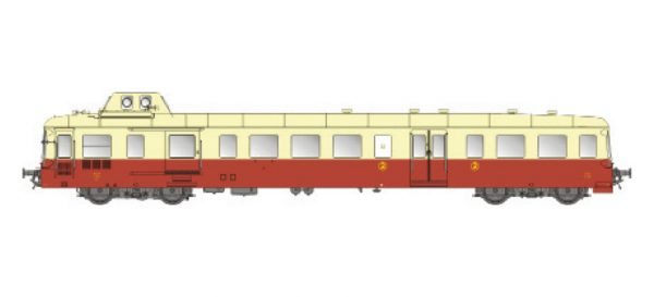 LS Models 10119  Diesel Railcar X3800, SNCF