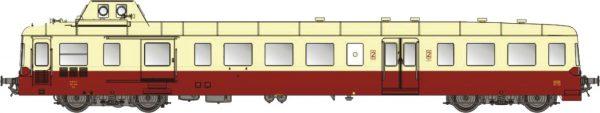 LS Models 10139  Diesel Railcar X3800, SNCF