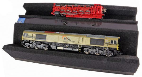 ESU 41010  Premium Foam Train Service Tray, 328 x 166 x 68 mm. With magnetic storage recess