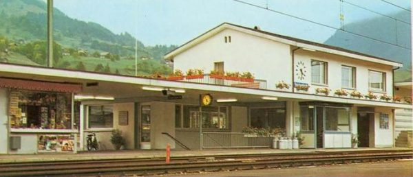 "Pola 651  Train Station ""REICHENBACH"""
