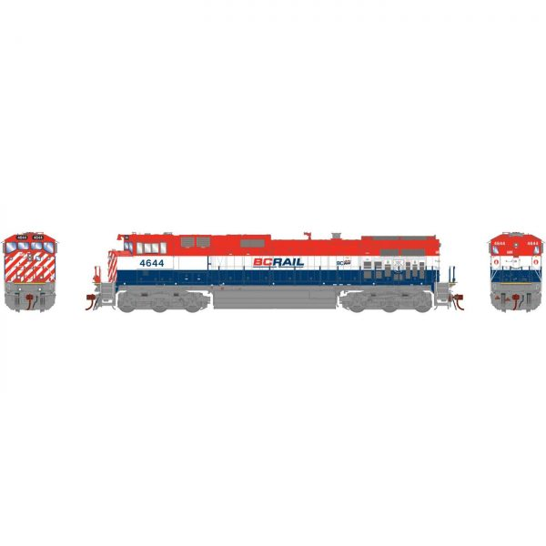 Athearn Genesis 31603  Diesel Locomotive Dash 9-44CWL, BCOL (DCC/Sound)