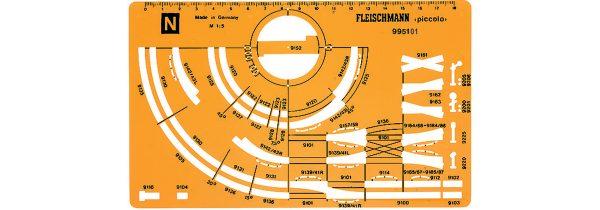 Fleischmann 995101  Track Stencil for N gauge