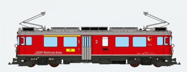 ESU 30148  Electric Railcar ABe 4/4 III, Tirano, of the RhB