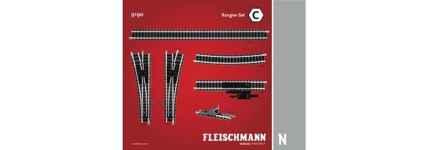 Fleischmann 9190  N Track pack. Shunter Set C