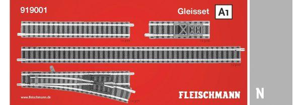 Fleischmann 919001  N Track Set A1