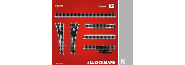 Fleischmann 919004  N Track Set Ü2, passing track 2