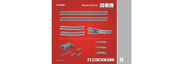 Fleischmann 919083  N DCC digital, Track Set Ü1