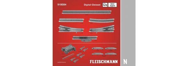 Fleischmann 919084  N DCC digital, Track Set Ü2