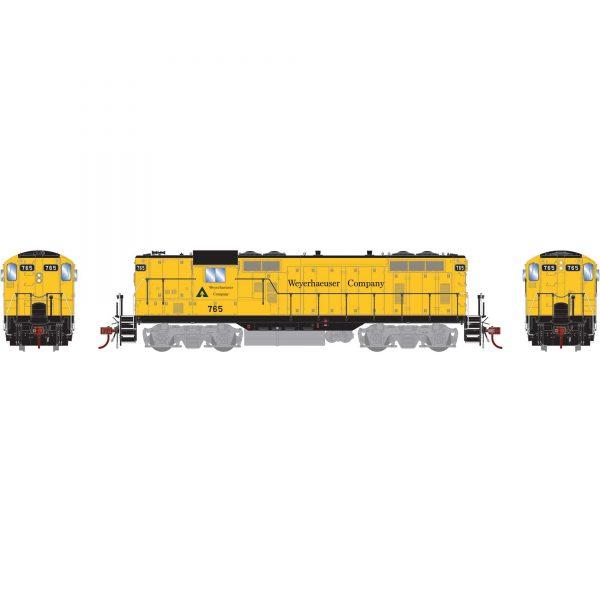 Athearn Genesis 78247  Diesel Locomotive GP7, Weyerhaeuser (DCC/Sound)