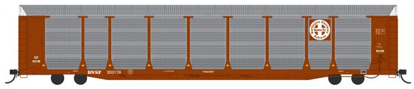 InterMountain Railway 194100-01  Bi-Level Auto Racks, BNSF