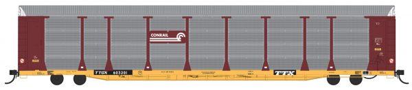 InterMountain Railway 194104-01  Bi-Level Auto Racks, Conrail