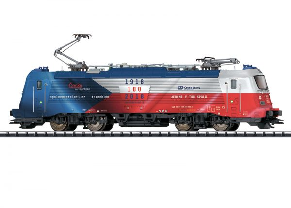 Trix 22454  Diesel Locomotive class 380, ČD (DCC/Sound)