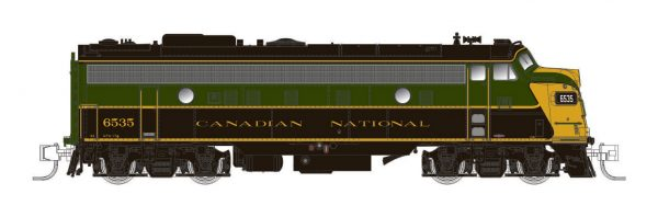 Rapido Trains 530001  Diesel Locomotive FP9A, CNR 1954 Scheme