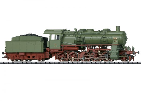 Trix 22458  Steam locomotive Class G12, W.St.E. (DCC/Sound)