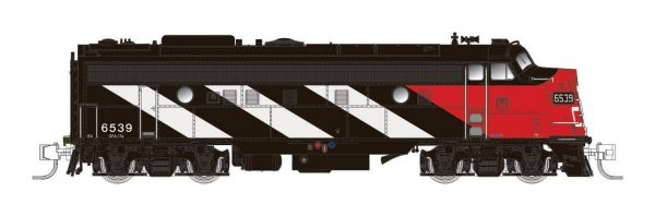 Rapido Trains 530005  Diesel Locomotive FP9A, CN Stripes Scheme