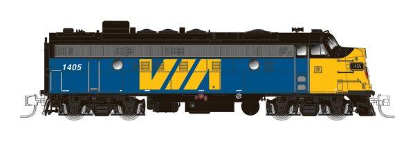 Rapido Trains 530035  Diesel Locomotive FP9A, VIA Rail Canada