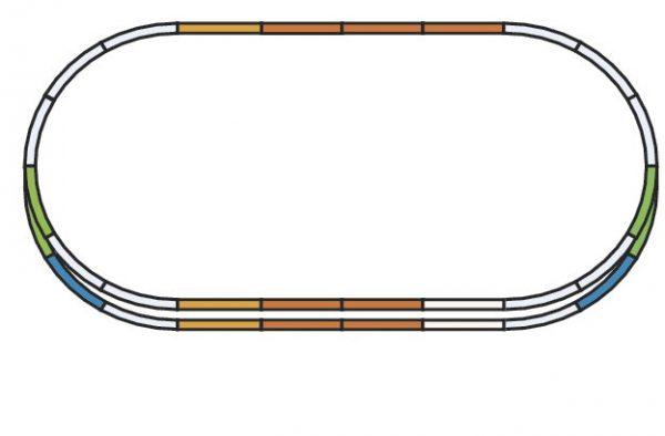Piko 55340  HO Track Set E