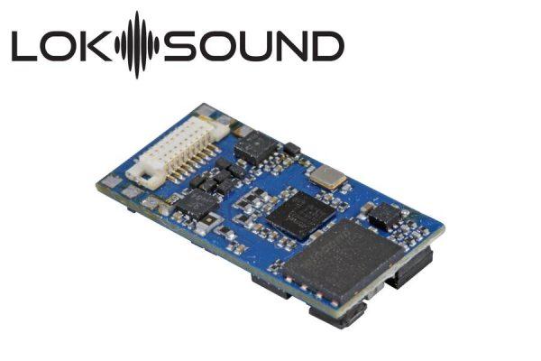 "ESU 58818  LokSound 5 micro DCC/MM/SX/M4 ""blank decoder"", Next18, with Speaker 11x15mm"