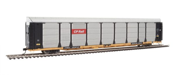 Walthers Proto 101327  89' Thrall Bi-Level Auto Carrier, CP Rail