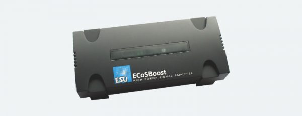 ESU 50012  ECoSBoost ext. booster 7A, MM/DCC/SX/M4, set with power supply 120-240V