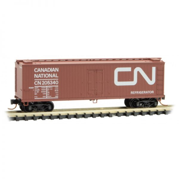Micro Trains 04700160   40' Double-sheathed wood reefer , CN