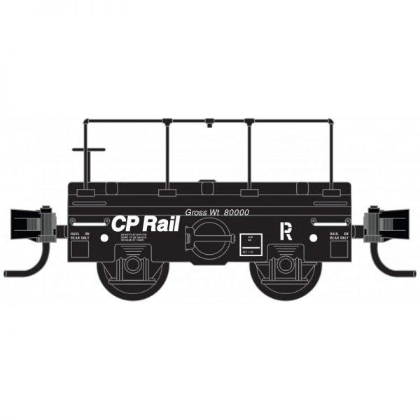 Micro Trains 12100140   Scale Test Car, CP Rail
