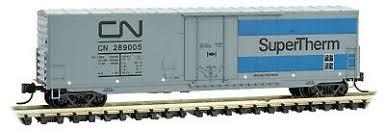 Micro Trains 18100090   50' Standard Box Car with Plug Door, CN