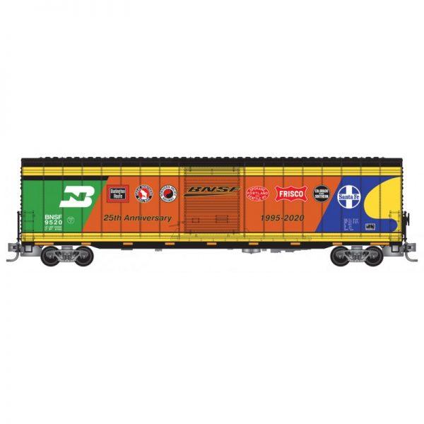 Micro Trains 10400080   60' Plug-door boxcar BNSF Anniversary