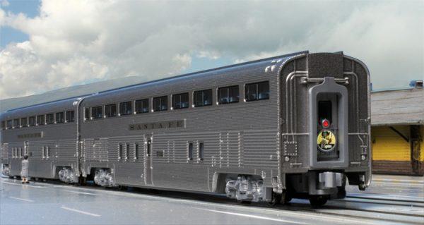 """Kato 106-084   Santa Fe """"El Capitan"""" 10 Car Set"""
