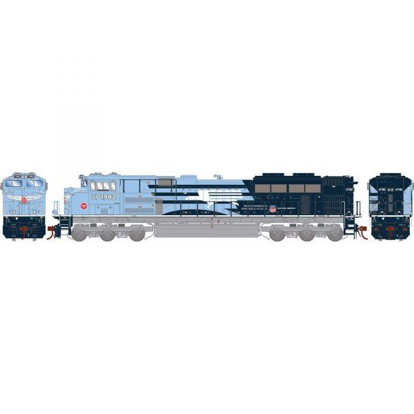 Athearn Genesis 19820  Diesel Locomotive G2 SD70ACe, UP/MP/Heritage Repainted