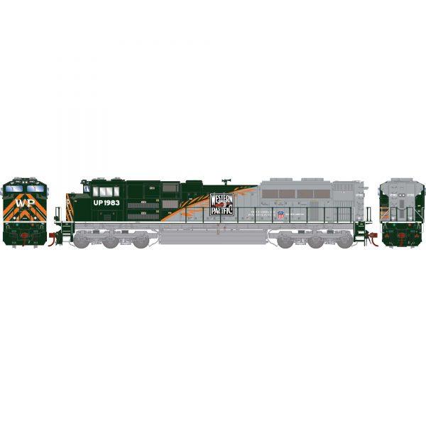 Athearn Genesis 19830  Diesel Locomotive G2 SD70ACe, UP/WP/Heritage Repainted