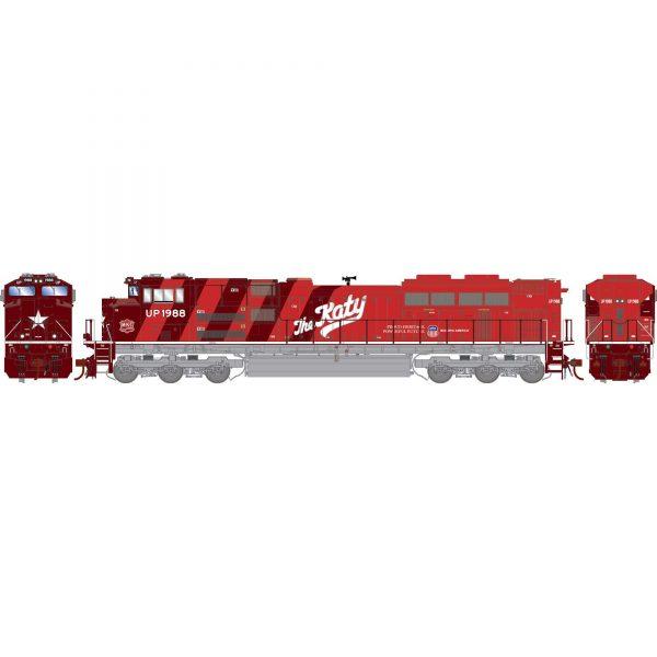 Athearn Genesis 19880  Diesel Locomotive G2 SD70ACe, UP/MKT/Heritage Repainted