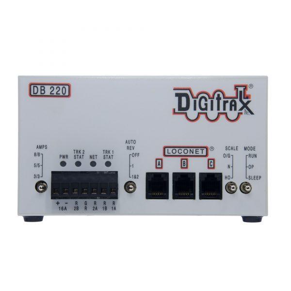 Digitrax  DB220 Single 3/5/8 Amp AutoReversing DCC Booster
