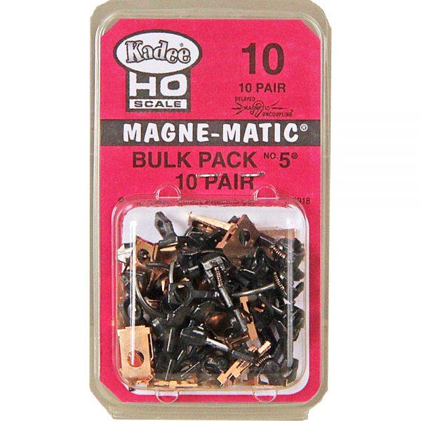 "Kadee 10  HO NO.5®Metal Couplers - Medium (9/32"") Centerset Shank (10pr)"