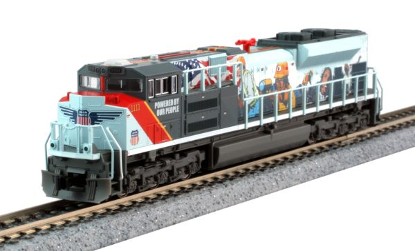 """Kato 1768412  EMD SD70ACe """"Powered by our people"""", UP"""