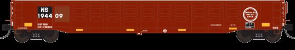 """Trainworx 25213-02   Corrugated 52'6"""" gondola, NS"""